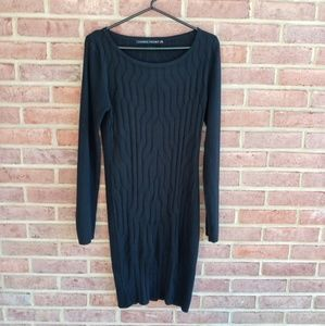 Ivanka Trump Black Sweater Dress Fall
